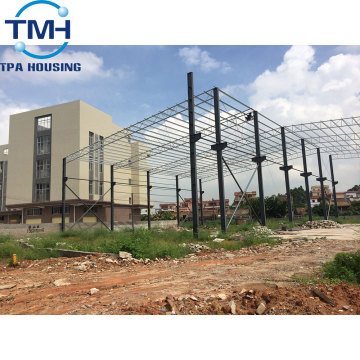warehouse prefab metal construction buildings steel frame