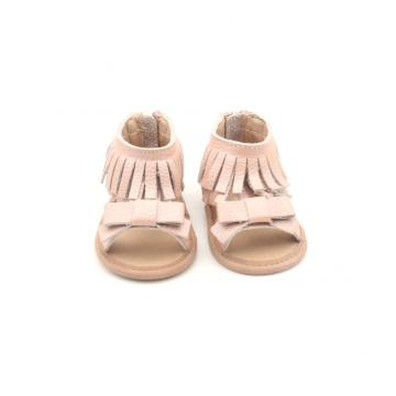 2018 Leather  Sandals Soft Sole Baby Shoes