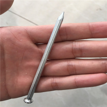 Galvanized steel concrete nail used for construction