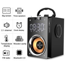 Super Bass Bluetooth Speakers Portable Column High Power 3D Stereo Subwoofer Music Center Support AUX TF FM Radio HIFI BoomBox