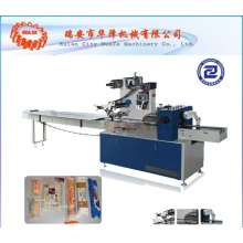 Pet food horizontal flow packing machine