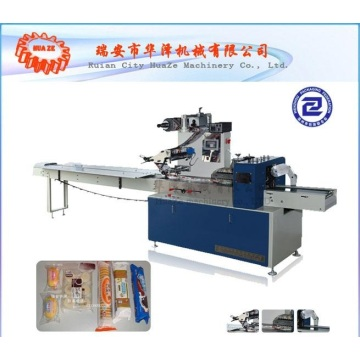 Bar soap wrapping machine
