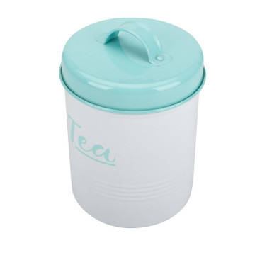 Tea Sugar Coffee Pot Tin