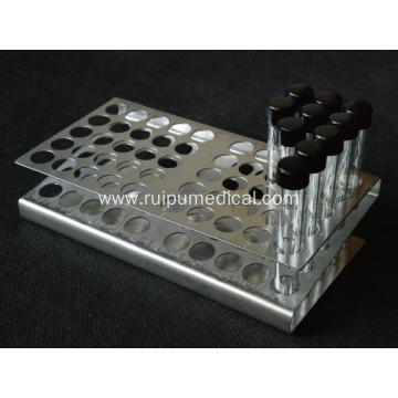 Z Type Stainless Steel Tube Rack 50 Places