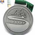 Custom the silver metal medal award for sale