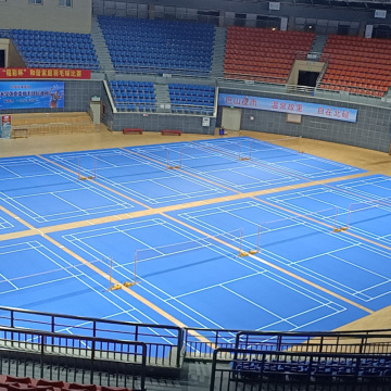 indoor best quality approved badminton flooring