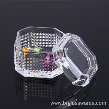 Hot Selling Unique Design Crystal Glass Jewel Box
