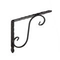 Cheaper Black steel S shelf brackets