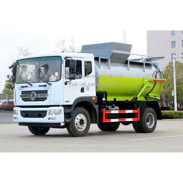 Brand New Dongfeng 8CBM Food Waste Management Truck