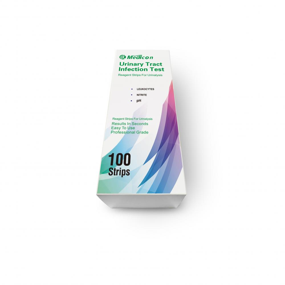 urinary tract infection urine test strip multistix