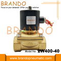 2/2 Way Brass Solenoid Water Valve 2W400-40