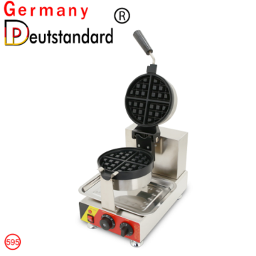 commercial waffle maker and rotary waffle machine with CE NP-595