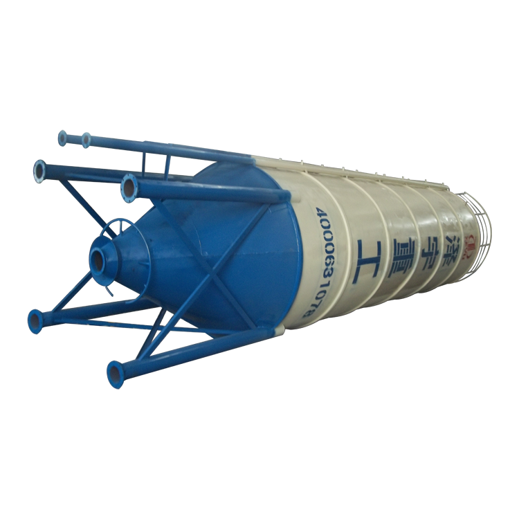 High-efficiency and high-precision 200ton cement silo