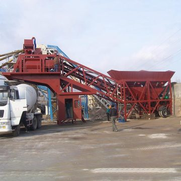 New condition ready mix YHZS35 concrete batching plant