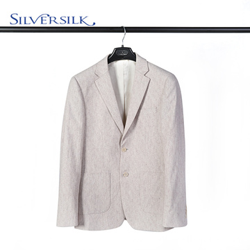 British Wool Polyester Two Button Jacket Man Blazer