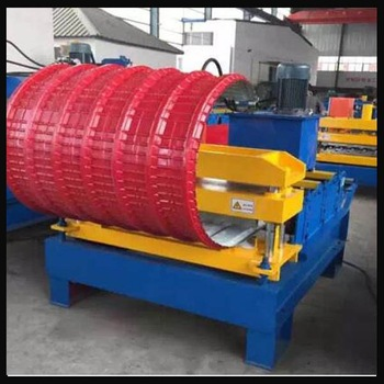 hydraulic arch camber curving machine