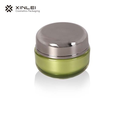 30 g Round Shape cosmetic Acrylic Packaging