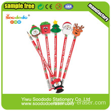Wholesale Novelty Rubber Cheap Topper Pencil Eraser For Kids