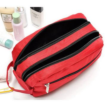 Custom Logo Classical High Quality Durable Travel Toiletry Cosmetic Bag