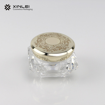 15 g Diamand Shape Cosmetic Cream Care Packaging