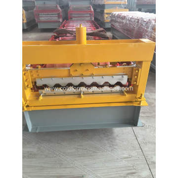 Roof panel metal wall tiles roll forming machine
