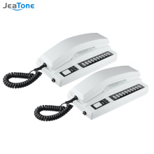 Jeatone Wireless Intercom System Secure Interphone Handsets Expandable for Warehouse Office interphone maison home phone voip