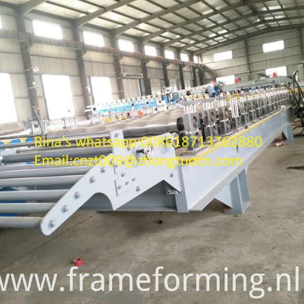 steel sheet roof sheet roll forming machine line 21