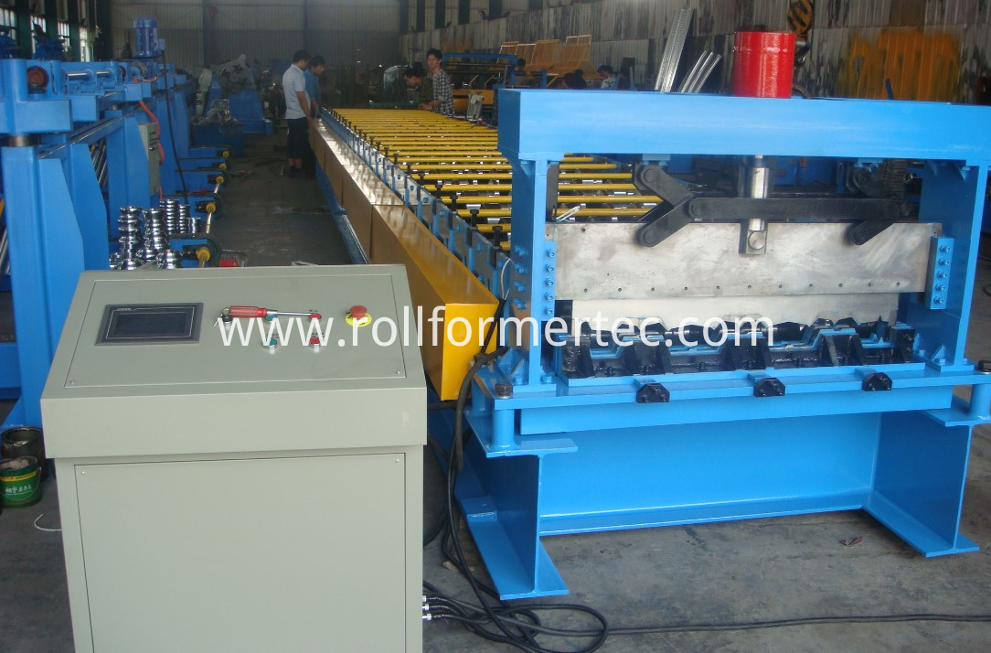steel deck panels forming machine