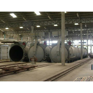φ2×27m AAC Autoclave for industrial