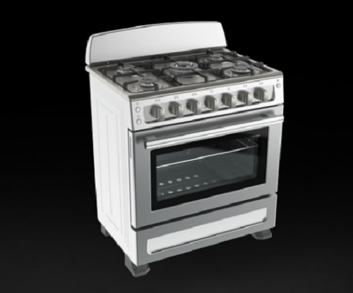 Stainless Steel Backguard Freestanding Gas Cookers