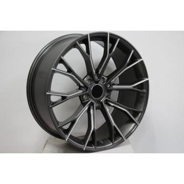 20inch Staggered Black Machined Face wheel rim