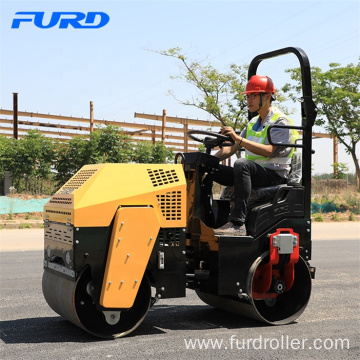 Popular Model 1 Ton Vibratory Double Drum Roller