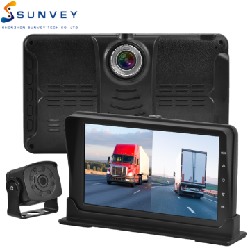 Car monitor parking reverse waterproof wide angle