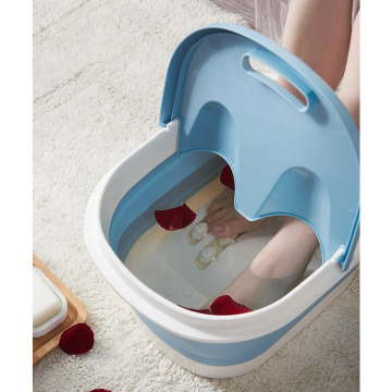 Collapsible Bathing Tub Portable Foot Spa Collapsible Foot Bath for Women Men