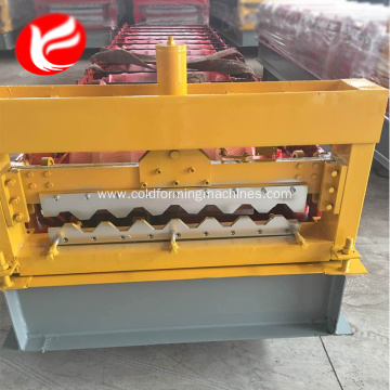 Roofing and wall panels roof forming machine