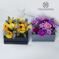 Cheap cardboard luxury packaging box for flower