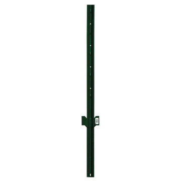 pvc coated studded t post