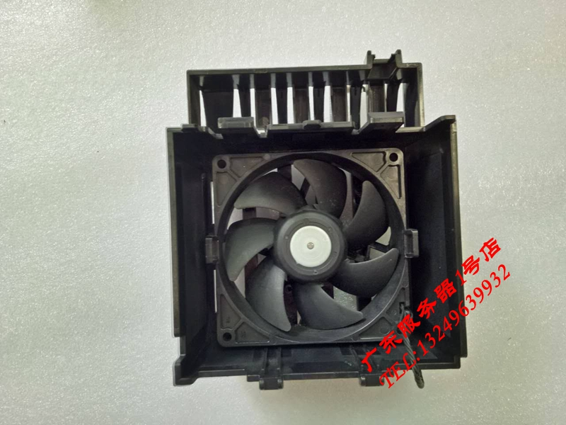 For Original HP Z420 workstation front chassis fan graphics card slot plus fan assembly