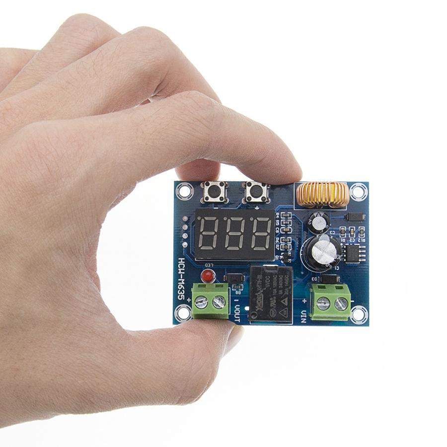 XH-M609 DC 12V-36V Charger Module Voltage OverDischarge Battery Protection Precise Undervoltage Protection Module Board