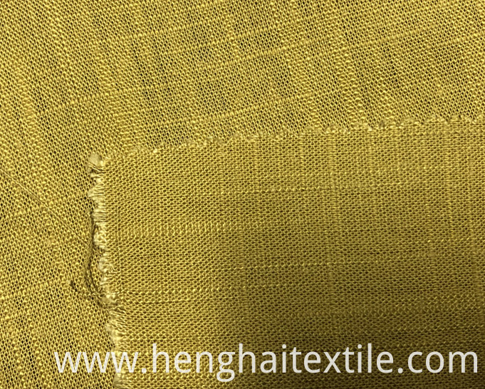 Dark yellow fabric