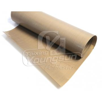 Porous PTFE fabric with rough surface
