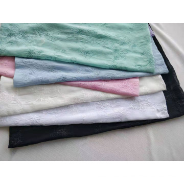 100% Polyester Chiffon Pleat Fabric