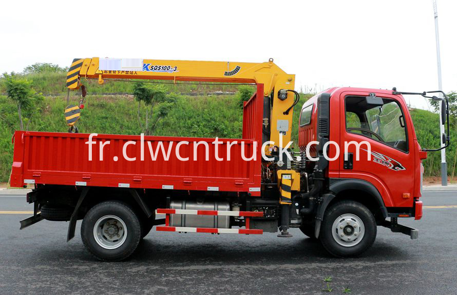 tipper crane truck for sale 2
