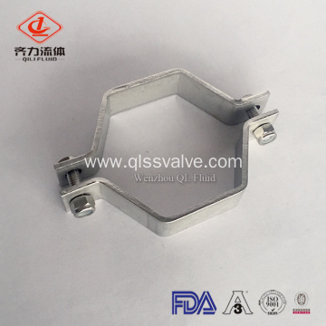 Stainless Steel Sanitary Pipe Clamp Support Pipe Holder