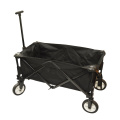 Black Collapsible Portable Folding Camping Wagon