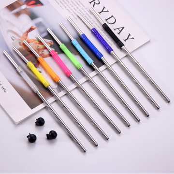 Custom Straw Reusable Telescopic Stainless Steel Straws