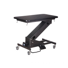 Portable Folding Dog Grooming Table with Wheels