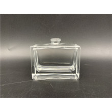 50ml clear square glass perfume bottle for cosmetic