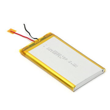 Long Cycle Life 9060102 3.7V 7300mAh Lipo Battery