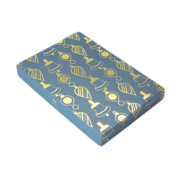 Hot Stamped Custom Gift Soap Box Packaging